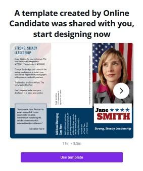 Free political print templates