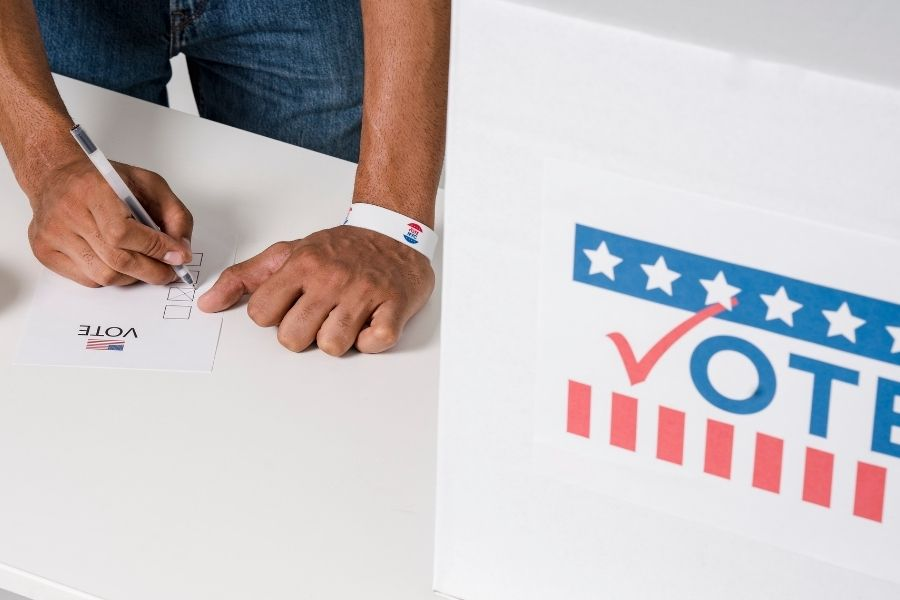 Voter Guide – Sample Copy